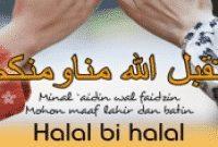 Contoh Pidato Halal Bihalal Hari Raya Dalam Bahasa Inggris Beserta Arti