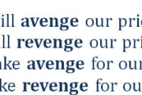 """Perbedaan """"Avenge vs Revenge"""" Dalam Bahasa Inggris Dan Contohnya"""